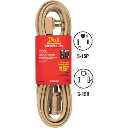 Picture of Do it 15 Ft. 14/3 15A Appliance & Air Conditioner Cord