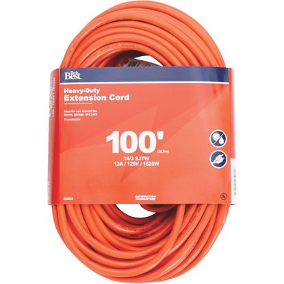 Picture of Do it Best 100 Ft. 14/3 Heavy-Duty Outdoor Extension Cord