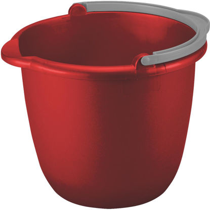 Picture of Sterilite 10 Qt. Classic Red Spout Bucket