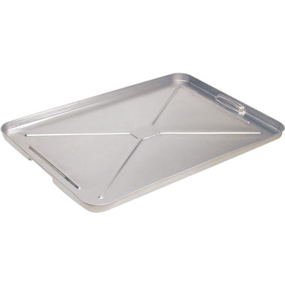 "Picture of Plews Lubrimatic 16"" x 25"" Galvanized Metal Auto Drip Pan"