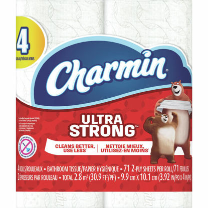 Picture of Charmin Ultra Strong Toilet Paper (4 Regular Rolls)