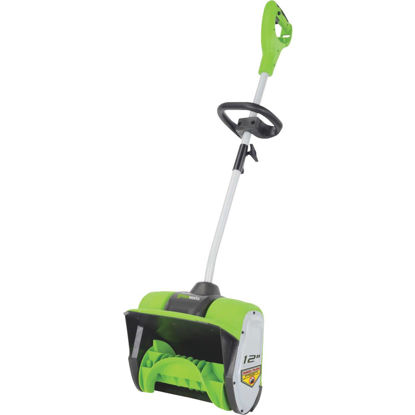 Picture of Greenworks 12 In. 8A Electric Snow Blower Shovel