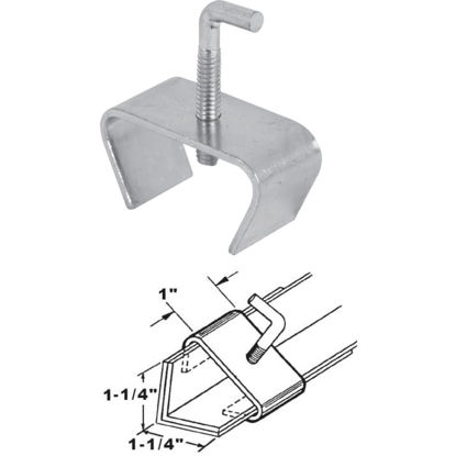 Picture of SLIDE-CO 1-1/4 In. Steel Bed Rail Clamp,(2-Pack)