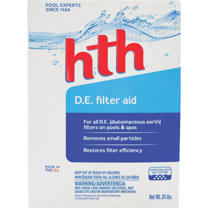 Picture of HTH 25 Lb. Powder Diatomaceous Earth Filter Cleaner