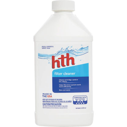 Picture of HTH 1 Qt. Liquid Filter Cleaner