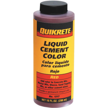 Picture of Quikrete Red 10 Oz Liquid Cement Color