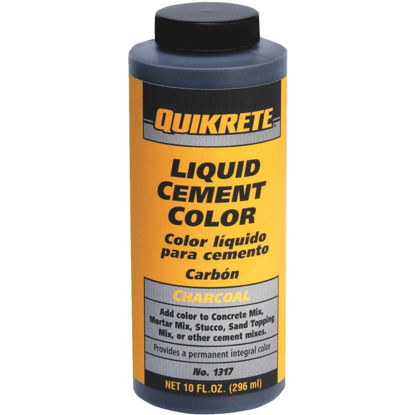 Picture of Quikrete Charcoal 10 Oz Liquid Cement Color