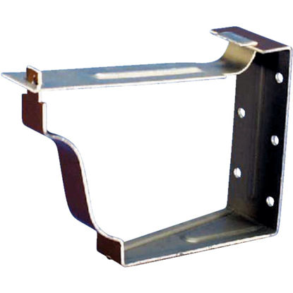 Picture of Amerimax K Style Galvanized Brown Snap-Lok Gutter Hanger Bracket