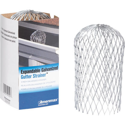 Picture of Amerimax 3 In. Expanded Galvanized Gutter Strainer
