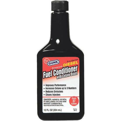 Picture of Gunk 12 Oz. Diesel Additive Fuel Conditioner with Cetane Boost