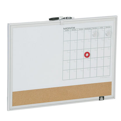 Picture of The Board Dudes 17 In. x 23 In. 3-in-1 Magnetic Dry-Erase Board