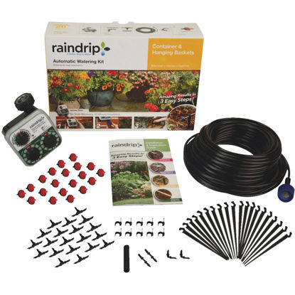 Picture of Raindrip 20-Container Patio Drip Irrigation Watering Kit