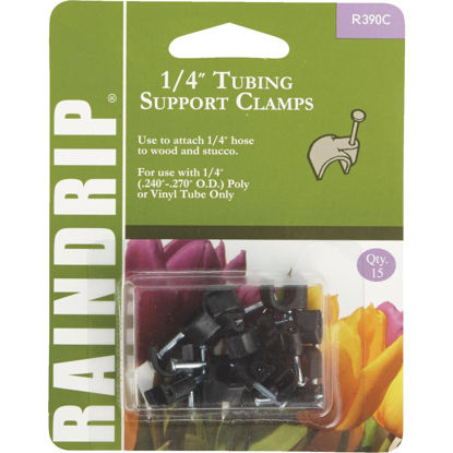 Picture of Raindrip 1/4 In. Tubing Mounting Clamp (15-Pack)