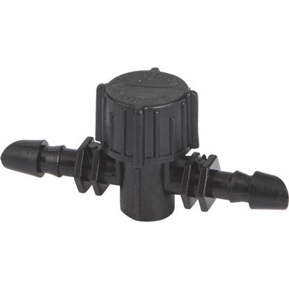 Picture of Raindrip 1/4 In. Double-Barbed In-Line Valve (10-Pack)