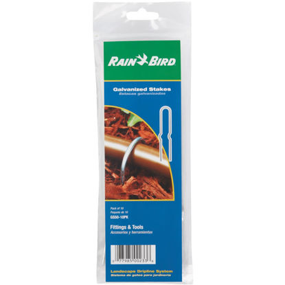 Picture of Rain Bird 1/2 In. Tubing Galvanized Steel Stake (10-Pack)
