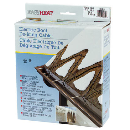 Picture of Easy Heat 20 Ft. 120V 5W De-Icing Roof Cable
