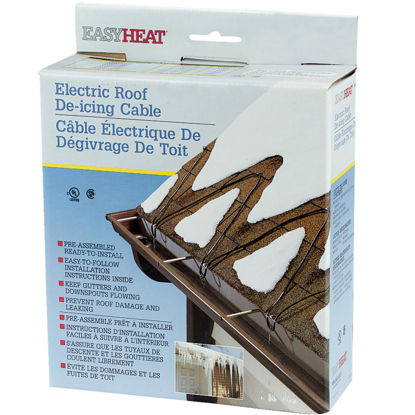 Picture of Easy Heat 80 Ft. 120V 5W De-Icing Roof Cable
