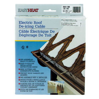 Picture of Easy Heat 60 Ft. 120V 5W De-Icing Roof Cable