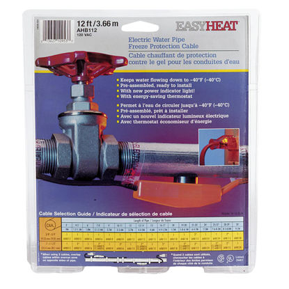 Picture of Easy Heat 12 Ft. 120V Pipe Heating Cable