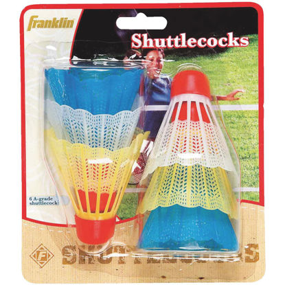 Picture of Franklin Badminton Shuttlecock (6-Pack)