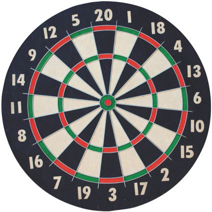 Picture of Franklin 18 In. Dia. x 1 In. Thick Dartboard