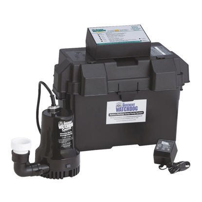 Picture of The Basement Watchdog Special Backup Sump Pump
