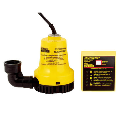 Picture of The Basement Watchdog Emergency Backup Sump Pump System