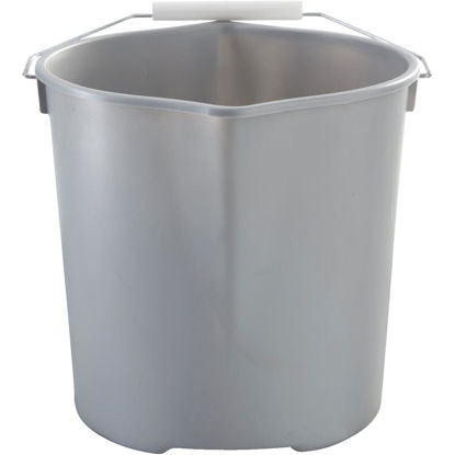 Picture of Quickie 11 Qt. Gray Heavy Duty Bucket