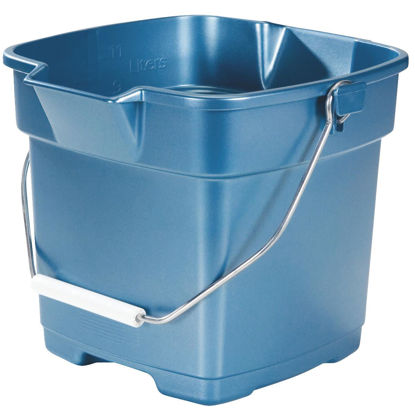 Picture of Rubbermaid Roughneck 12 Qt. Blue Bucket