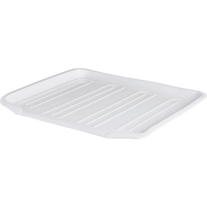 Picture of Rubbermaid 14.38 In. x 15.38 In. White Sloped Drainer Tray