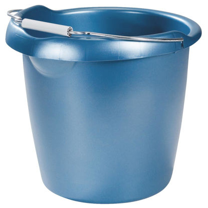 Picture of Rubbermaid 15 Qt. Royal Blue Bucket