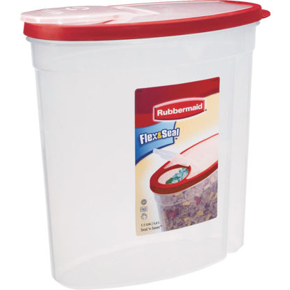 Picture of Rubbermaid Flex&Seal 1.5 Gal. Clear Food Storage Container with Lid
