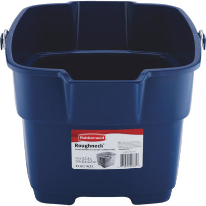 Picture of Rubbermaid Roughneck 15 Qt. Blue Bucket