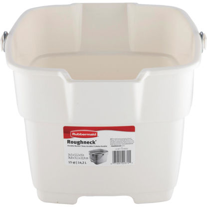 Picture of Rubbermaid Roughneck 15 Qt. Bisque Bucket