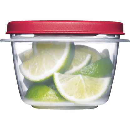 Picture of Rubbermaid Easy Find Lids 2 C. Clear Round Food Storage Container