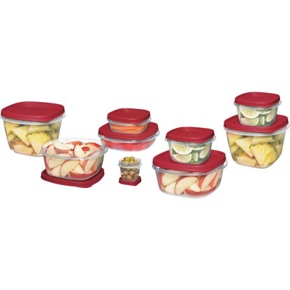 Picture of Rubbermaid Easy Find Lids 24-Piece Clear Food Storage Container Set