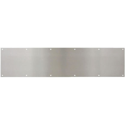 Picture of National 8 In. x 34 In. Satin Nickel Aluminum Kickplate