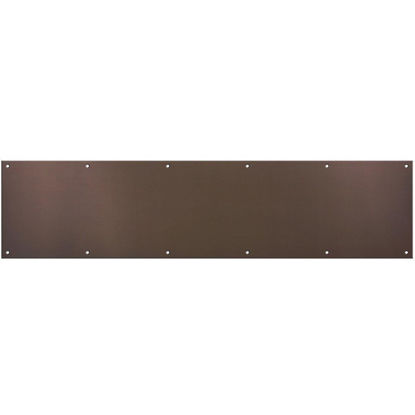 Picture of National 8 In. x 34 In. Antique Bronze Aluminum Kickplate