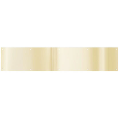 Picture of National 6 In. x 30 In. Brass Aluminum Kickplate