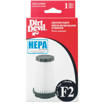 Picture of Dirt Devil Type F2 HEPA 08240 & 08245 Vacuum Filter