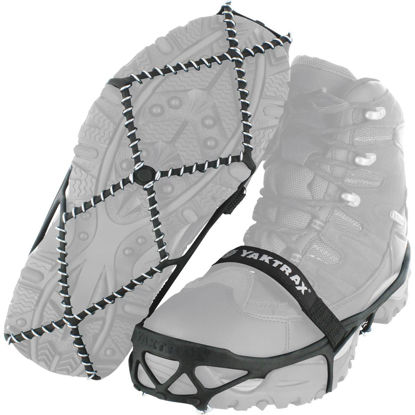 Picture of Yaktrax Pro Extra Large Black Rubber Ice Cleat
