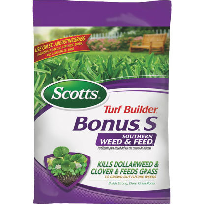 Picture of Scotts Turf Builder Bonus S Southern Weed & Feed 18.62 Lb. 5000 Sq. Ft. 29-0-10 Lawn Fertilizer with Weed Killer