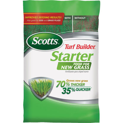 Picture of Scotts Turf Builder 15 Lb. 5000 Sq. Ft. 24-25-4 Starter Fertilizer For New Lawns