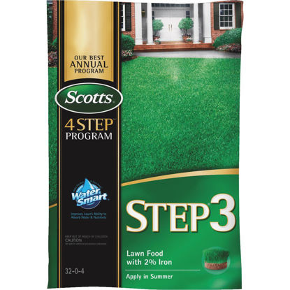 Picture of Scotts 4-Step Program Step 3 12.60 Lb. 5000 Sq. Ft. 32-0-4 Lawn Fertilizer with 2% Iron