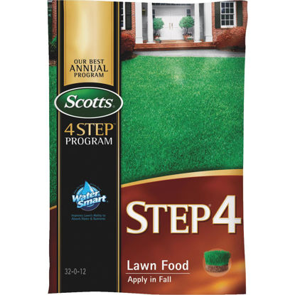 Picture of Scotts 4-Step Program Step 4 12.50 Lb. 5000 Sq. Ft. 32-0-12 Fall Lawn Fertilizer