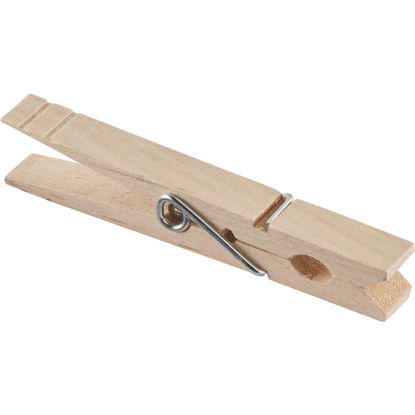 Picture of Homz Spring Hardwood Clothespins (36-Pack)