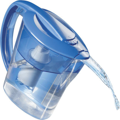 Picture of Culligan 8-Cup Water Filter Pitcher, Blue