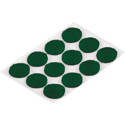 Picture of Do it 1/2 In. Green Round Felt Pad (24-Count)