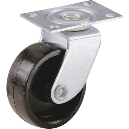 Picture of Do it 1-1/4 In. Light-Duty Plastic Swivel Plate Caster (4-Pack)