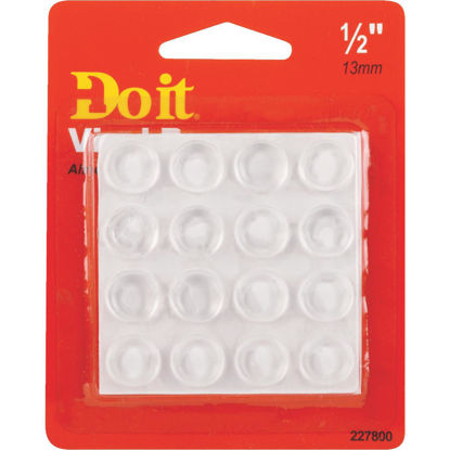 Picture of Do it 1/2 In. Round Vinyl Non-Skid Pad,(16-Count)
